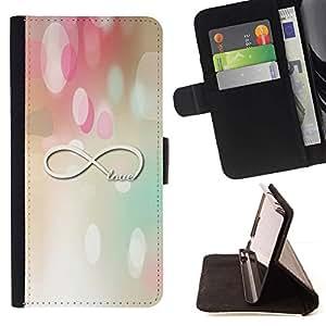 For Samsung Galaxy J3(2016) J320F J320P J320M J320Y Case , Matemáticas Física Pastel- la tarjeta de Crédito Slots PU Funda de cuero Monedero caso cubierta de piel
