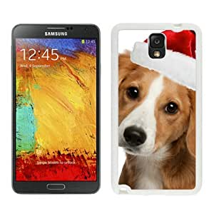 Individualization Christmas Dog White Samsung Galaxy Note 3 Case 10 by icecream design