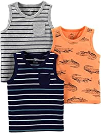 Toddler Boys 3-Pack Tank Tops