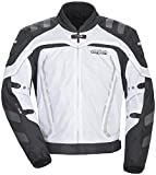 Cortech GX Sport Air 3 Mens White Mesh Jacket - 2X-Large