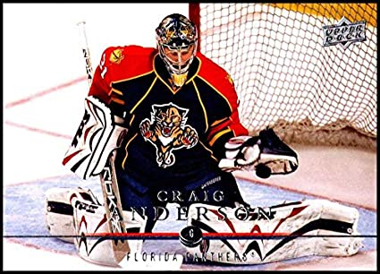 Amazon Com 2008 09 Upper Deck 333 Craig Anderson Nm Mt Florida