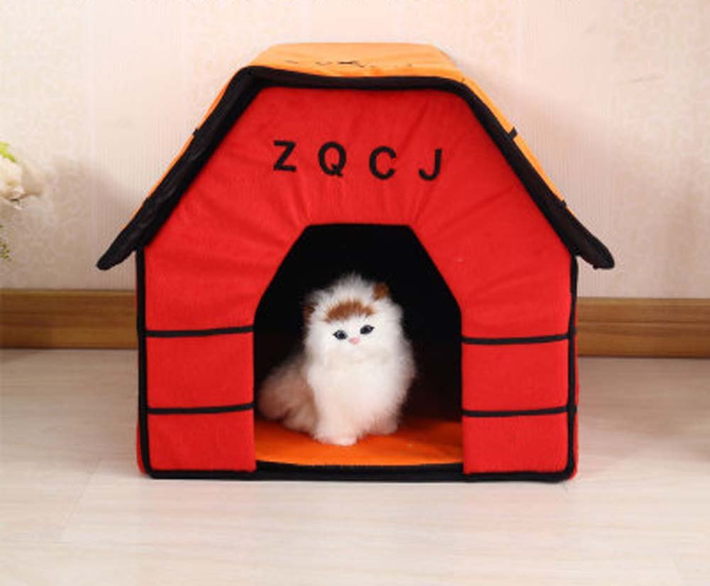 43CM43CM40CM QAZSE New Flat Pet Room Removable And Washable