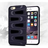 iPhone 6 Plus Case,iPhone 6s Plus Case, Ebakx[Exclusive]Picasso Dreams case Hybrid High Impact Hard Plastic+Soft Silicon Rubber , Cover for Apple iPhone 6S &6 Plus Case. Black