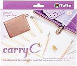 Tulip Needle Company TP1195 Carry C Interchangeable Bamboo Knitting Needle Set