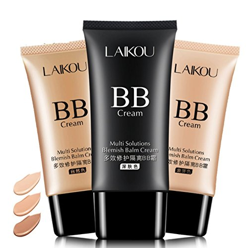 HD Long Lasting High-Definition Maria Matte Effect Makeup Liquid BB Cream Foundation (Ivory)