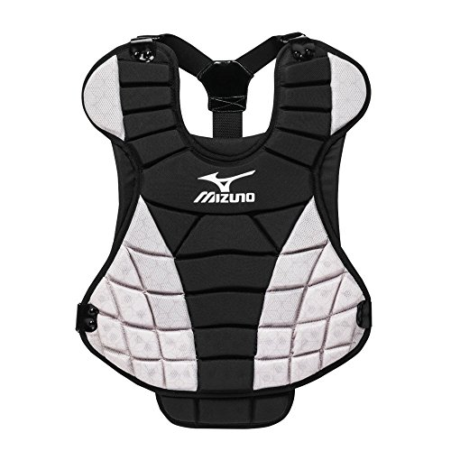 Womens Fastpitch Softball Chest Protector - Mizuno Samurai Women's Fastpitch Softball Chest Protectors, Black/Grey