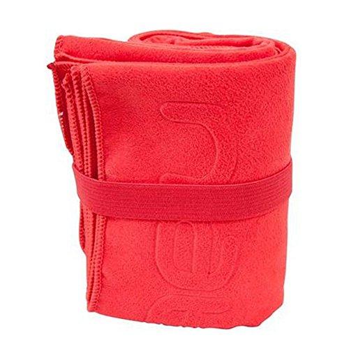 90x 90x 65cm séchage rapide serviette de plage Sac de sport Serviettes de bain–Rouge