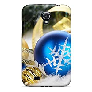 meilz aiaiCute Appearance Cover/tpu PxN5074CrNb Christmas And Happy New Year 2012 Christmas Balls 45 Case For Galaxy S4meilz aiai