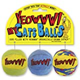 Yeowww My Cats Balls, 3-Pack