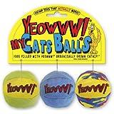 Yeowww My Cats Balls, 3 Balls per Pack