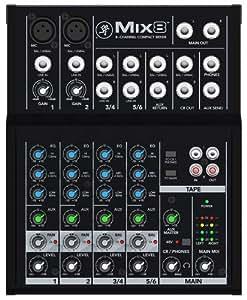 Mackie Mix8 - Mesa de mezclas