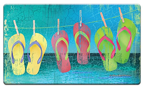 Counter Art 'Day at the Beach' Anti Fatigue Floor Mat, 30 x 20