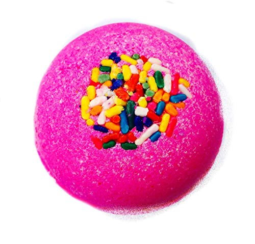 Strawberry Shortcake Birthday Bath Bomb ~ XL 8-9oz.