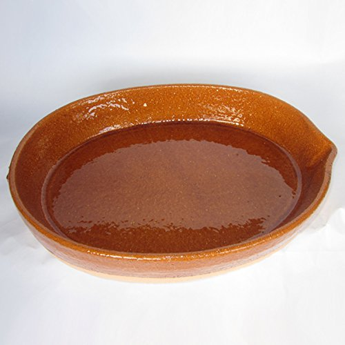 Spanish Oval Paella Cazuela From Pereruela - Medium