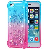Flocute iPhone 5 5s SE Case, iPhone 5s Glitter Case Gradient Series Bling