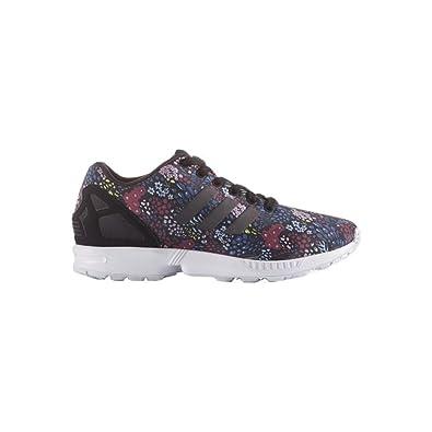 reputable site d1a74 ce947 adidas Damen Zx Flux Sneakers, Mehrfarbig (Core Black Core Black Ftwr White