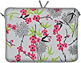Digittrade DG-LS104 Sakura Designer Notebook Sleeve, 15.4 - 15.6 inch