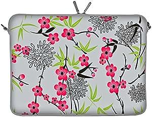 Digittrade DG-LS104 Sakura Designer Notebook Sleeve, 15.4 - 15.6 inch