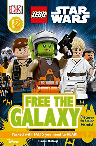 DK Readers L2: LEGO Star Wars: Free the Galaxy: Discover the Rebels' Secrets! (DK Readers Level - Lego Wars Star Book Level 2