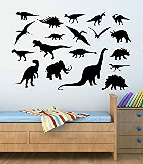 Amazoncom Dinosaur Wall Decal Dinosaur Bones Personalized Vinyl - Custom vinyl wall decals dinosaur