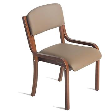 LAXF-taburetes altos cocina sillón Silla de madera con respaldo que se puede utilizar para