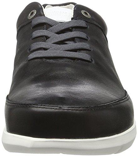 Birkenstock Illinois Herren, Zapatos de Cordones Derby para Hombre Negro - negro
