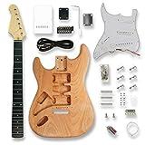 Unfinished DIY Electric Guitar Kit Set