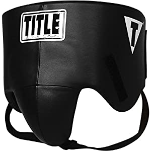 TITLE Boxing Hook-and-Loop Pro Style No-Foul Protector