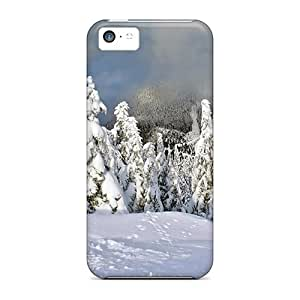 Annmali Case Cover For Iphone 5c - Retailer Packaging Forest Winter Protective Case