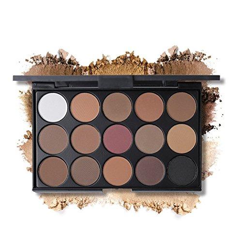 FantasyDay Pro 15 Colors Eyeshadow Makeup Palette Cosemetic