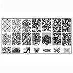 Doinshop 1PC Nail Art DIY Nail Stamp...