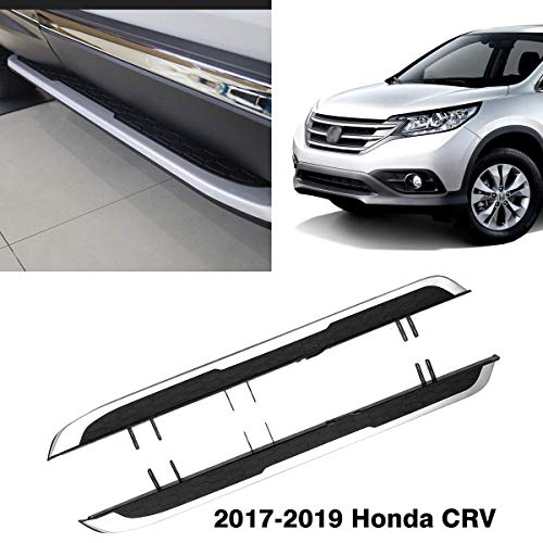 Autoxrun Side Steps Running Boards Fits 2017 2018 Honda CRV Black Side Bars Step Rails