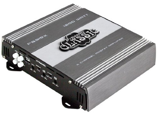 Pyramid PB915X 1200 Watts 2 Channel Bridgeable Amplification