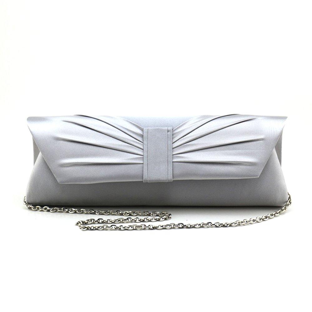Iber Bolsos Satin Wedding Bridal Prom Evening Handbag Clutch Bag W1244