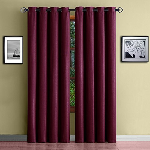 Warm Home Designs 1 Panel of Teal Blue Standard Size 54' X 84' Thermal Blackout Curtains. Energy Saving, Room Darkening Insulated Window Drapes Create Privacy in Bedroom, Kids Room. EL Teal 84