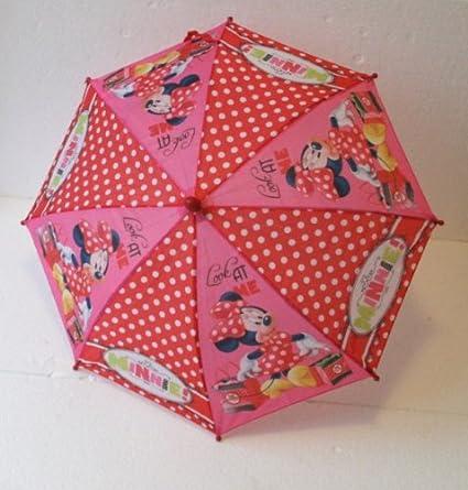 Disney Minnie Mouse paraguas muchachas de los niños paraguas Minnie Mouse 65cm
