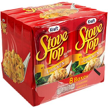 Kraft Chicken Stove Top Stuffing Mix (6 oz. box, 8 ct.) (Stove Top Stuffing Mix)