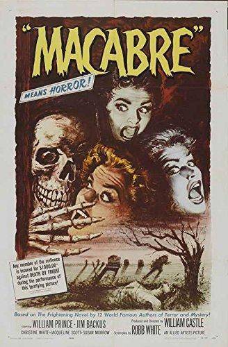 Buy pop culture graphics macabro movie poster 11 x 17