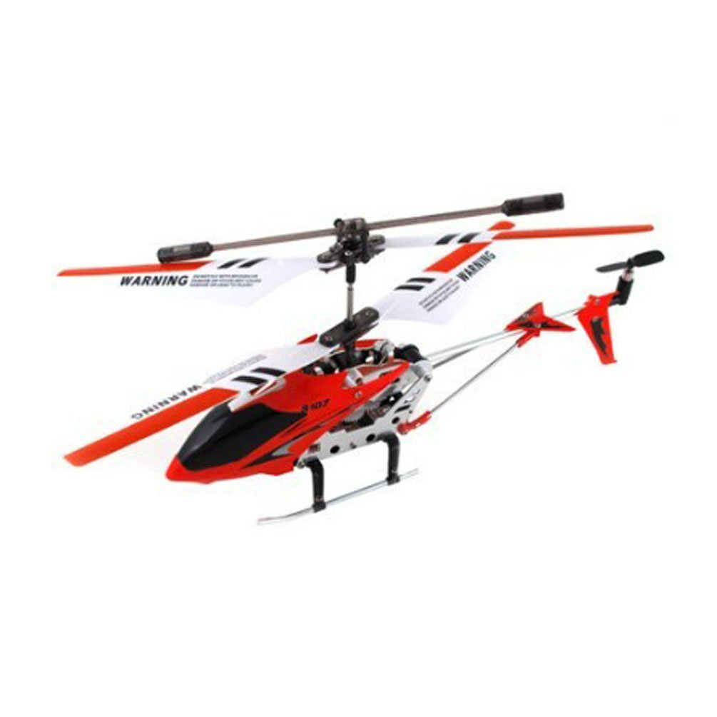 OnceAll Syma S107G 3 Channel Remote Control Helicopter with Gyroscope Red: Amazon.es: Juguetes y juegos