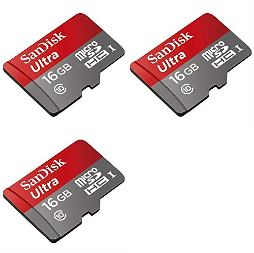 3 x Quantity of DJI Phantom 16GB Micro SD Memory Card SDHC Ultra Class 10 with Adapter up to 48MB/s - FAST FROM Orlando, Florida USA! by HobbyFlip