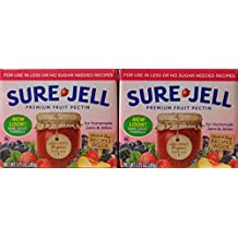 Sure Jell Premium Fruit Pectin, 1.75 Oz (49g) Twin Pack