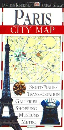 Eyewitness Travel City Map to Paris