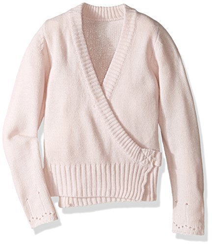 capezio-little-girls-classic-knit-wrap-sweater-pink-x-small