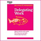 Delegating Work Audiobook by  Harvard Business Review Narrated by James Edward Thomas