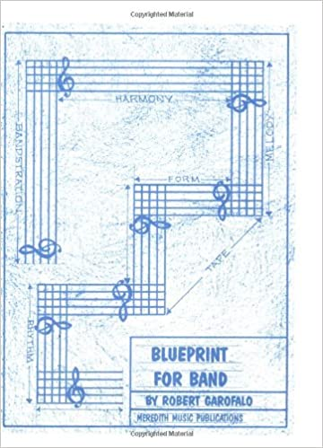 Blueprint for band robert garofalo 0073999258035 amazon books malvernweather Image collections
