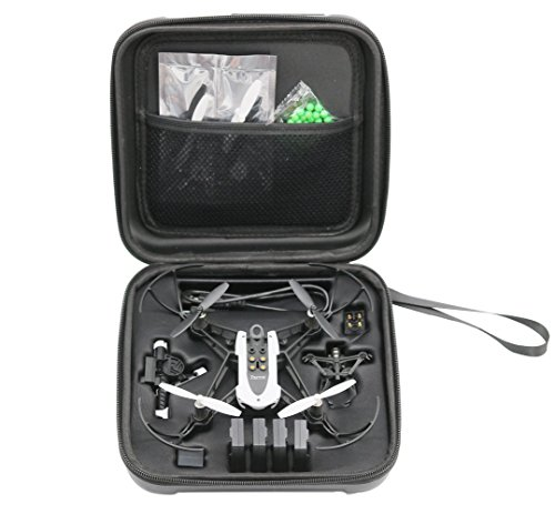 Rantow-Hardshell-Case-For-Parrot-Mambo-Drone-Quadcopter-Perfect-Size-Black-Hard-Case-Box-for-Parrot-RC-Mambo-Minidrone