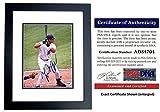 Autographed Cabrera Photo - Miami 8x10 inch BLACK CUSTOM FRAME 2003 World Series Champion 2x MVP Certificate of Authenticity COA) - PSA/DNA Certified