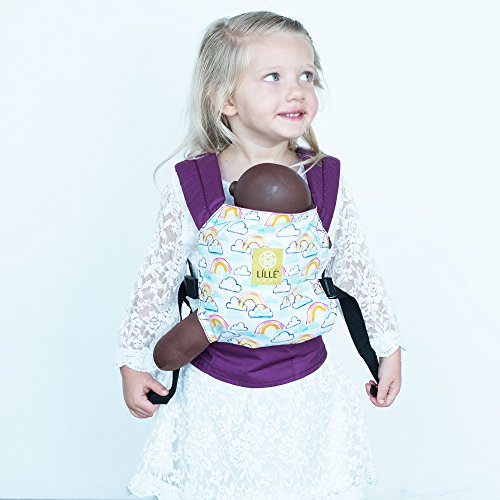 Fantastic Deal! LILLEbaby Doll Carrier - Rainbow and Smiles