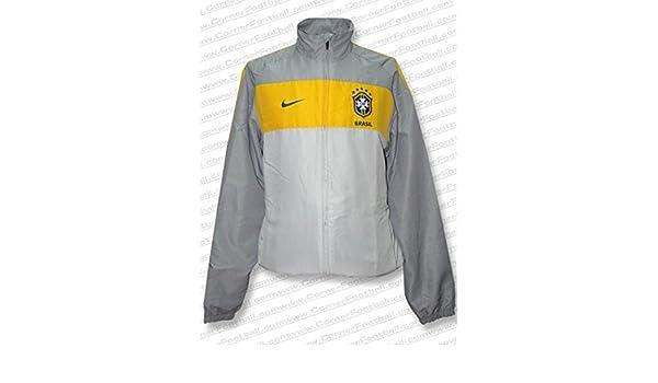 Nike - Brasil Chandal Gris WC2010 Hombre Color: Gris Talla: XL ...