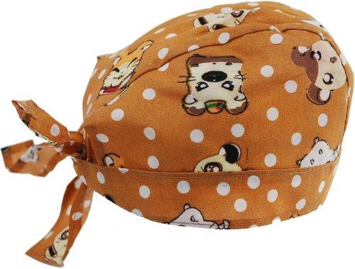 Price comparison product image Biker Skull Caps - Head Wrap Do Rags / Bandanas / Hats - Brown Pokemon